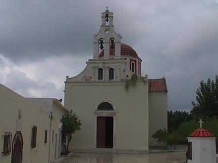die Kirche von Aussen - Moni Chalevis