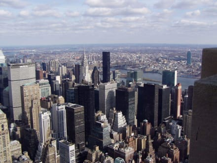 Aussicht vom Empire State Building  - Empire State Building