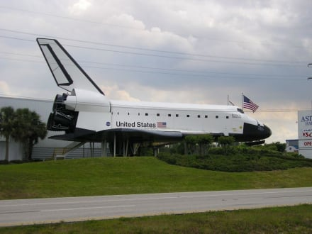 Space Shuttle in Cape Canaveral - Kennedy Space Center