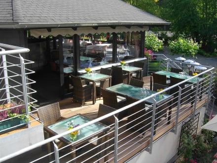 Terrasse Restaurant - BEST WESTERN Landhotel Am Zault