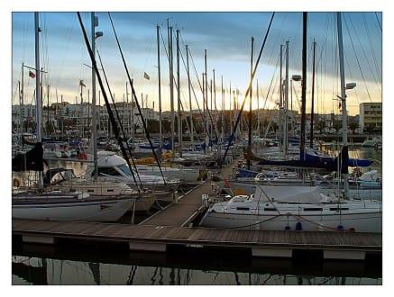 Marina in Lagos - Hafen Marina de Lagos