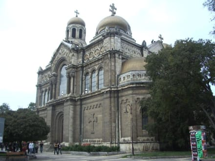 Kathedrale in Varna - Muttergottes Kathedrale