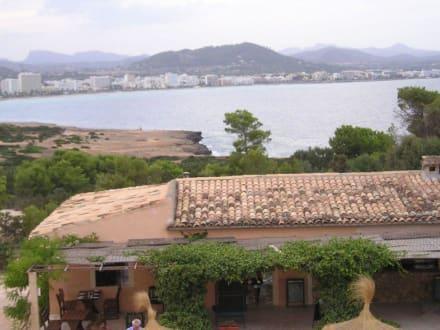 Blick vom Castell - Naturschutzgebiet Punta de n'Amer