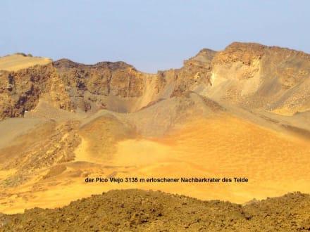 erloschener Krater - Teide Nationalpark