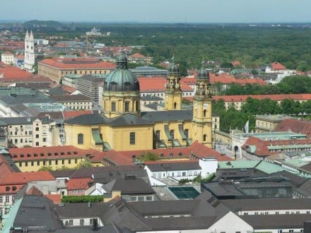 Blick vom Turm der Frauenkirche - Frauenkirche
