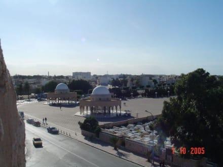 Blick vom Ribat - Festung El Ribat