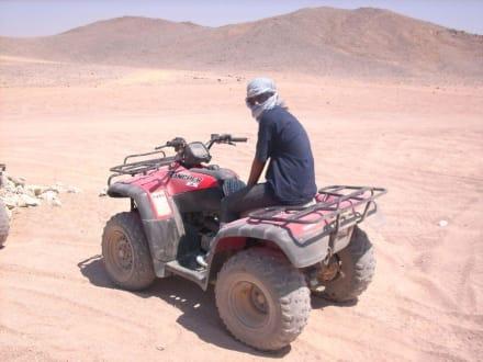 Kurze Pause - Quad Tour Hurghada