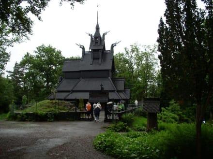 Stabkirche in Bergen - Stabkirche Fantoft