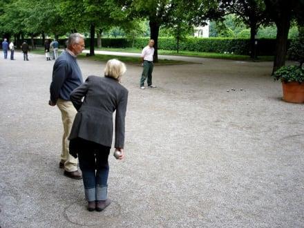 Boule-Spieler im Hofgarten - Hofgarten