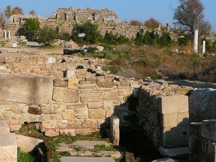 Burg/Palast/Schloss/Ruine - Ruinen Side