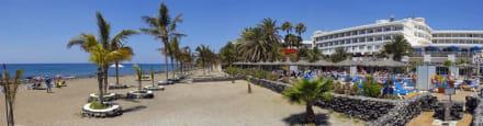Playa del hotel -