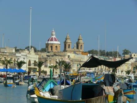 Hafen von Marsaxlokk - Hafen Marsaxlokk