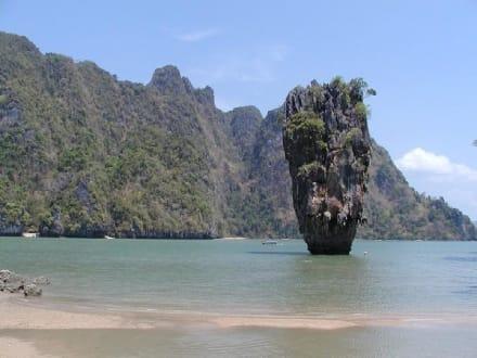 James Bond Island - Khao Phing Kan - James Bond Felsen
