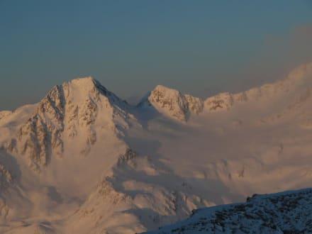 Ausblick von Zimmer 133 - Glacier Hotel Grawand