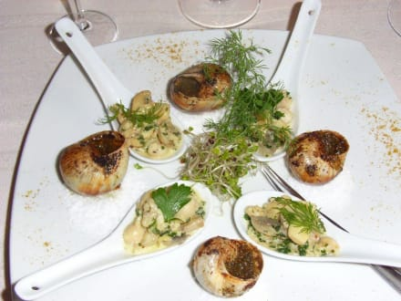Weitere Vorspeise - Hotel Restaurant La Chaumiere