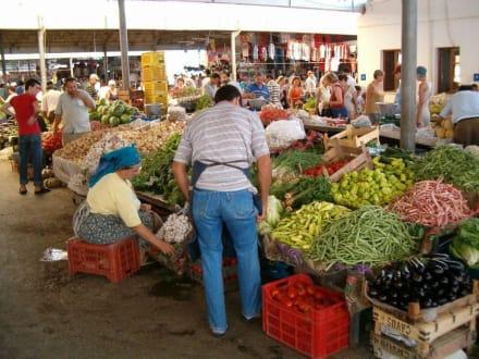 Bazaar in Gümbet/Bodrum - Einkaufen in Gümbet