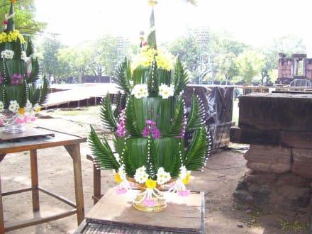 Gesteck - Khmer Tempel