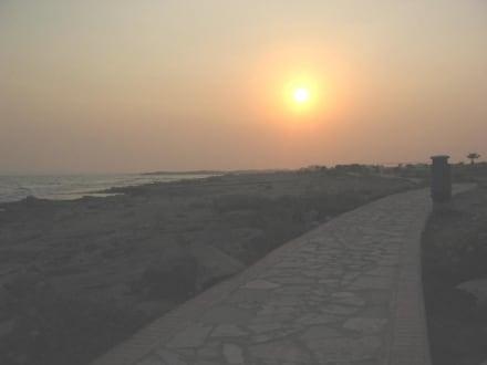 Sonnenuntergang - Strand Ayia Napa/Agia Napa