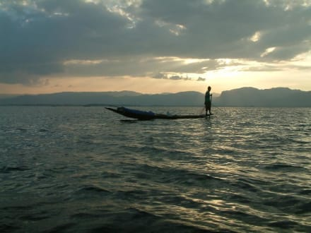 Abendstimmung am Inle-See - Inle See