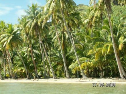 Strand Huahine - Strand Huahine Nui