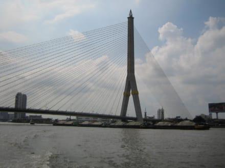 Eine Brücke die unsere Reise kreuzte. - Chao Phraya River