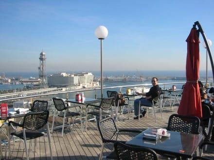 Blick über Barcelona - Miramar
