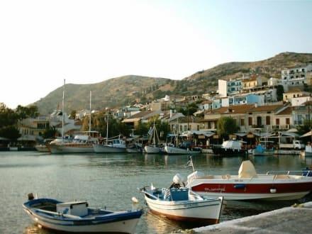 Pythagorio Samos - Hafen Pythagorion