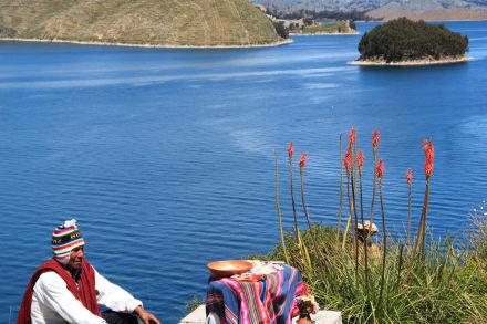 Fluss/See/Wasserfall - Titicacasee