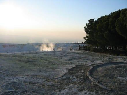 Kalkterrassen - Kalksinterterrassen von Pamukkale