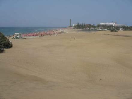 Strandblick - Dünen von Maspalomas