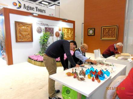 Türkische Kunst - ITB - Tourismuss Messe