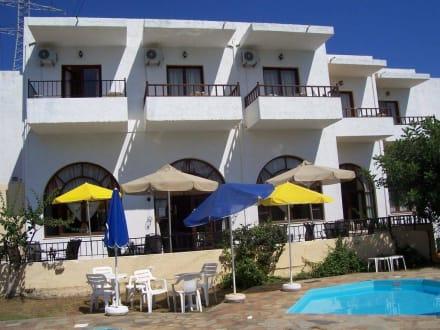 Hotel marlena poolansicht hotel marlena
