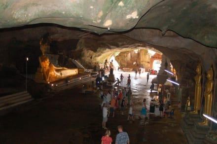 Blick in die Suwan Kuha Höhle - Wat Suwan Kuha Tempel