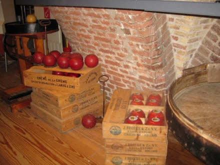 Käsemuseum auf dem Käsemarkt in Alkmaar - Käsemarkt