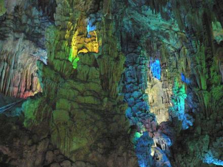 Super Tropfsteinhöhle (Schilfrohrflöten-Höhle) - Schilfrohrflötenhöhle