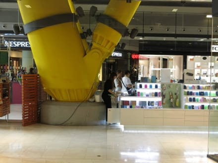 Verankerung von Säulen - Einkaufszentrum Las Arenas