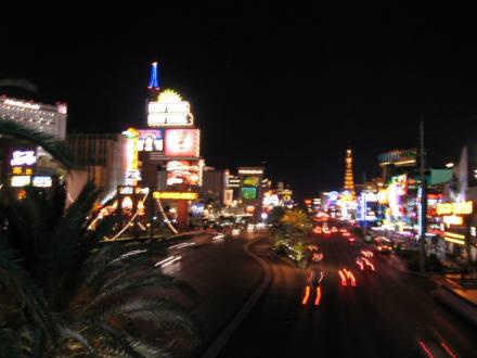 Der Strip bei Nacht - Las Vegas Strip