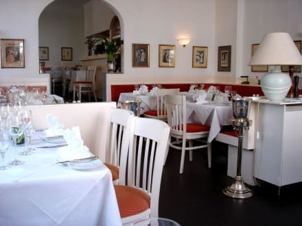 Restaurant La Bouille, Innenansicht - Restaurant La Bouille