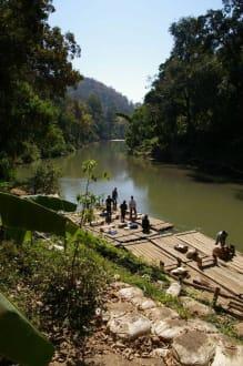 Floßfahrt oder Elefantenritt? - Elephant Training Center Chiang-Dao