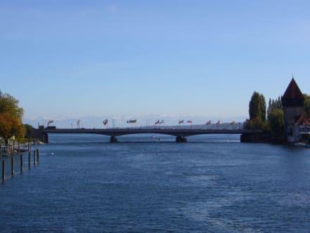Rheinbrücke (in unmittelbarer Nähe vom ABC Hotel) - Rheinbrücke