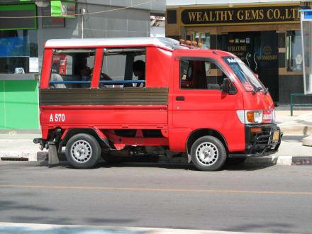 TukTuk Taxi - Chopsticks