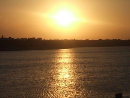 Sonnenuntergang - Yachthafen Monastir