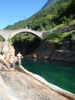 Waters (river/lake/waterfall)  - Valle Verzasca