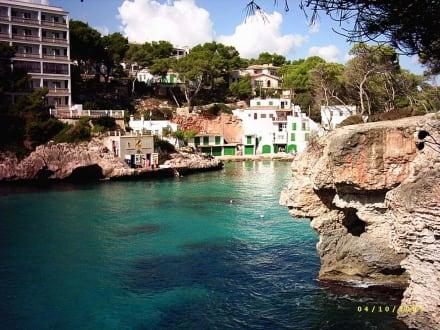 Tauchbasis - Bucht von Cala Santanyi