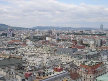 Blick über Wien - Stephansdom