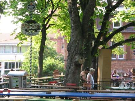 Biergarten - Biergarten Darmstadt