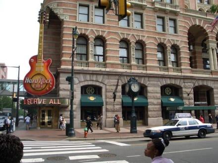 Außenansicht Hard-Rock-Café Philadelphia - Hard Rock Café