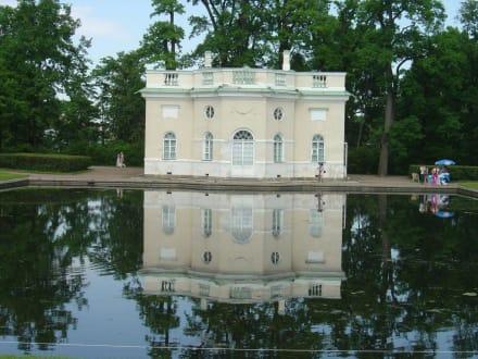 Pavillion - Zarendorf/Zarskoje Selo / Katharinenpalast mit Parkanlage