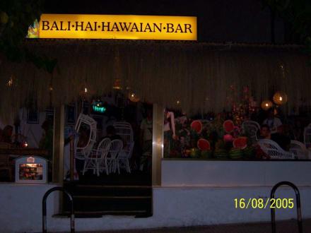 außenaufnahme - Balihai Hawaii Bar