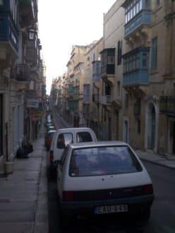 Straßenszene - Altstadt Valletta